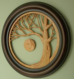 Cathey Tree Carving