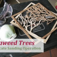 Seaweed Trees - Delicate Sanding Operation