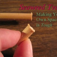 Seaweed Trees - Making Your Own Spacers is Tough