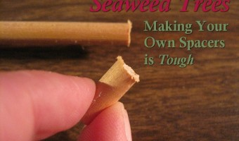 Making Your Own Spacers is Tough – Seaweed Trees