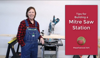 Mitre Saw Station - Tips for Building