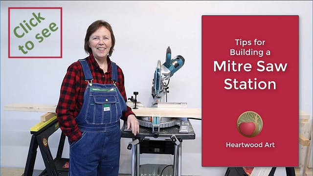 Tips for Building a Mitre Saw Station.