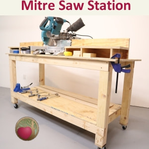 Mitre Saw Station - Featured Heartwood Art Build