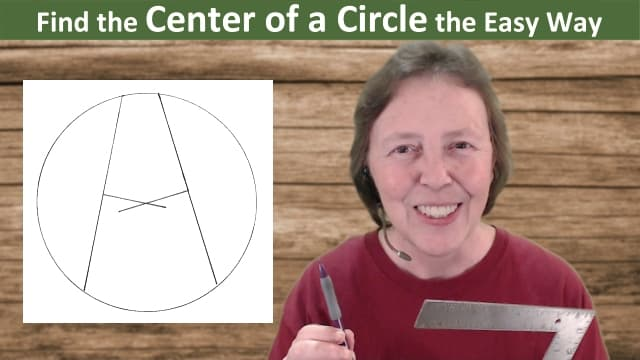 Find the Center of a Circle